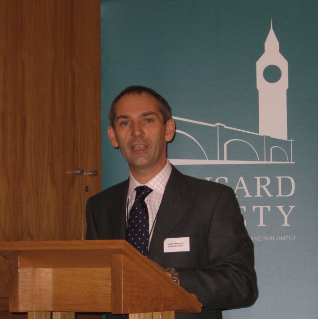Andy Williamson, Director eDemocracy Programme, Hansard Society